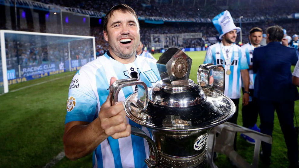 Chacho Coudet Campeon con Racing