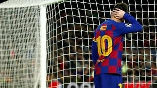 Leo Messi no logra quebrar el cero en la cuarta fecha del Grupo F.
