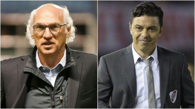 Riquelme reabrió el debate de Bianchi y Gallardo.