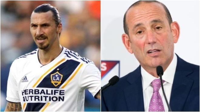 """Bombazo desde la MLS: """"Ibrahimovic tiene 38 años y ahora va a firmar..."""
