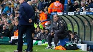 Marcelo Bielsa, director técnico de Leeds United.