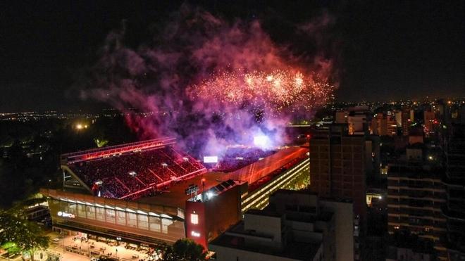 Estudiantes vivió una fiesta en La Plata