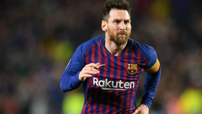 Leo Messi, futbolista del Barcelona.
