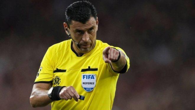 Roberto Tobar, el árbitro de la final entre River y Flamengo en Lima