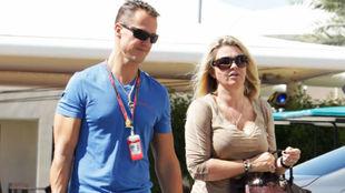 Corinna y Michael, en una imagen de 2011.
