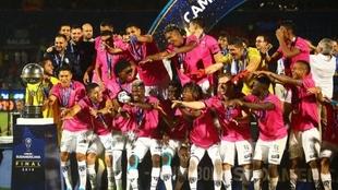 Independiente del Valle, reciente campeón de la Copa Sudamericana.