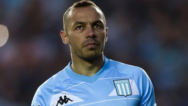 Marcelo Díaz, futbolista chileno de Racing.