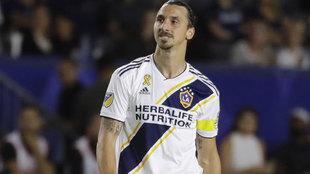"Ibrahimovic dice adiós a Los Anheles: ""Querían a Zlatan, les di..."