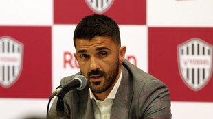 David Villa anuncia su retiro a los 38 años
