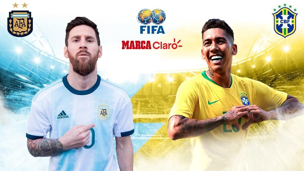 Argentina y Brasil se miden en Riad — Amistoso
