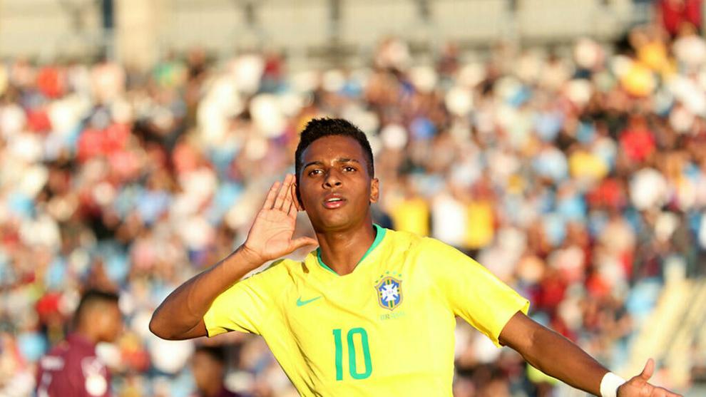 Rodrygo tendría su debut en la Selección de Brasil