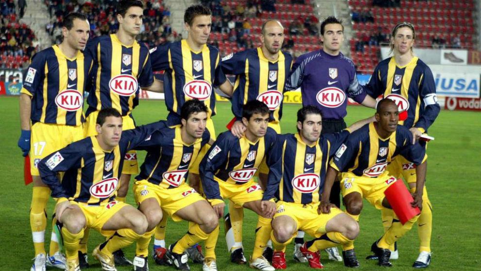 Once del Atlético en Mallorca.