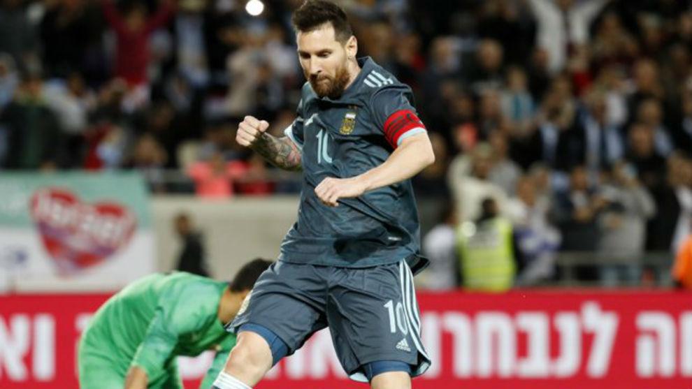 Messi marcó el gol de la igualdad sobre el final.