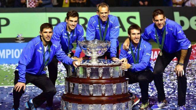¿Cuántas veces ganó la Copa Davis Argentina?