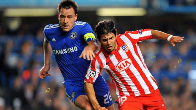 Chelsea y Atlético de Madrid jugaron por la Champions 2009.