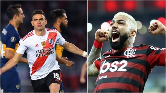 River y Flamengo se verán las caras por primera vez en una final de...