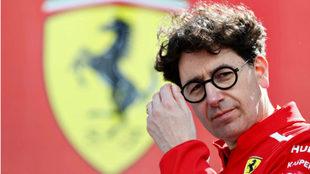 Binotto cree que critican a Ferrari hagan lo que hagan