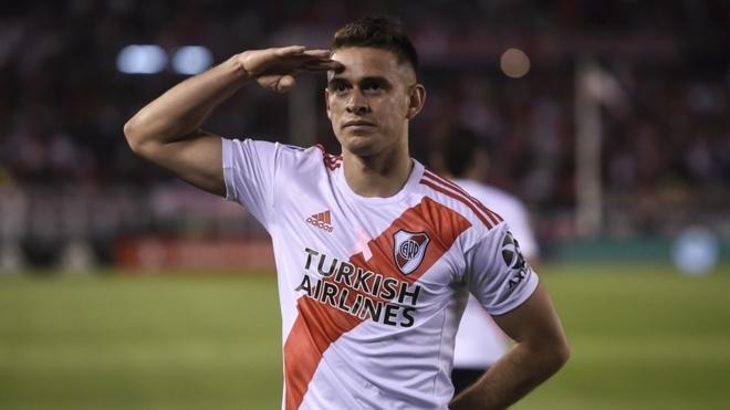 """Rafael Borré: """"Estos son los partidos que nos gustan"""""""