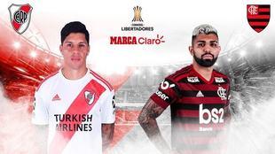 River vs Flamengo, horario y dónde ver