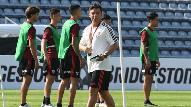 Formación confirmada de River para enfrentar a Flamengo