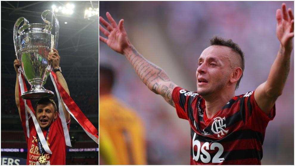 Rafinha, campeón de la Champions con el Bayern, y Libertadores con...