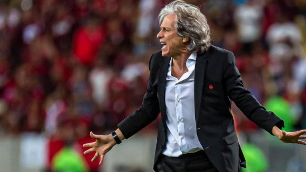 Jorge Jesus, DT de Flamengo