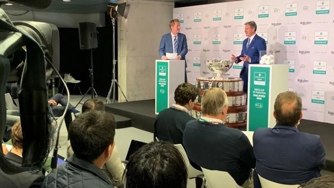 Argentina ya tiene rival para la qualy de la Copa Davis 2020