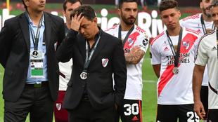 Gallardo se lamenta tras perder frente a Flamengo