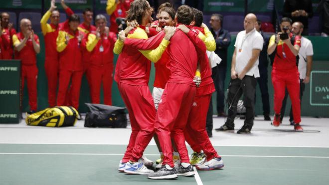 España, nuevamente en lo más alto de la Copa Davis.