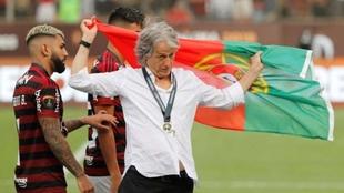 El portugués Jorge Jesús se quedó con la Libertadores 2019.