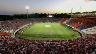Estadio Malvinas Argentinas de Mendoza, escenario de la final 2019.
