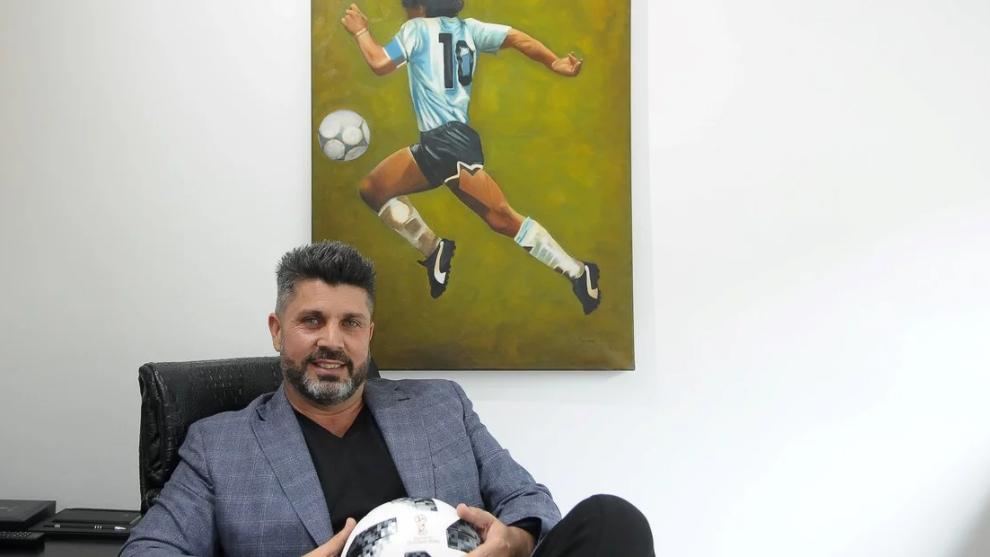 Bragarnik, representante de Maradona, entre otros
