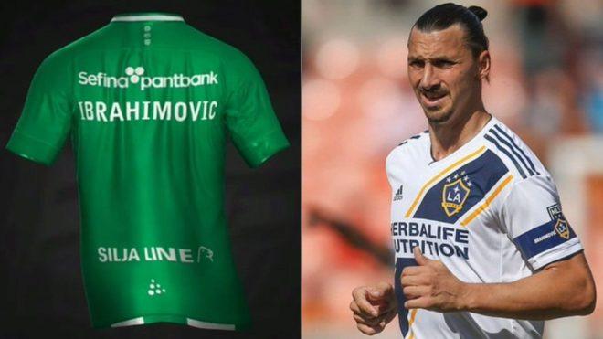 Ibrahimovic sigue jugando con su futuro: ¿será jugador del Hammarby...