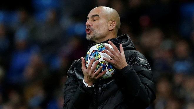 Pep Guardiola, director técnico del City.