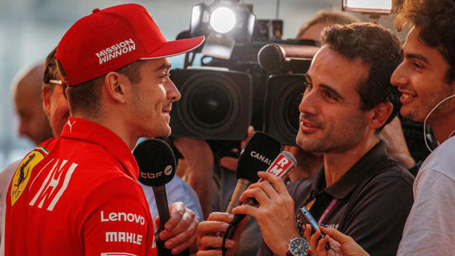 "Leclerc: ""Vettel sabe que pudo evitar ir a la izquierda"""