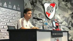 """Marcelo Gallardo: """"¿Alguien puede creer que no tengo fuerzas..."""