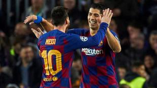 Luis Suárez y Lionel Messi, una amistad que supera lo futbolístico.