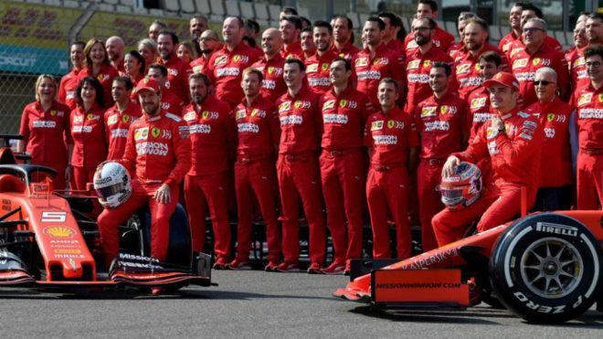 Sebastian Vettel y Charles Leclerc, morbo al rojo