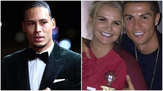 Katia Aveiro, hermana de Cristiano Ronaldo, explota contra Van Dijk