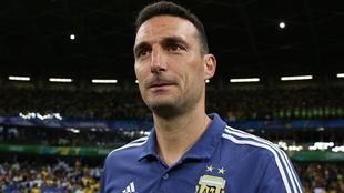 Lionel Scaloni, entrenador de la Selección Argentina