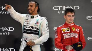 Leclerc daría la bienvenida a Hamilton si fichara por Ferrari