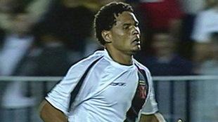 Fabio Junior, durante su etapa en el Vasco da Gama.