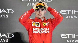 """Leclerc: """"No imaginaba que superaría a Vettel el primer..."""