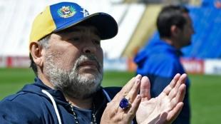 El mensaje de Diego Maradona tras la asunción de Alberto Fernández