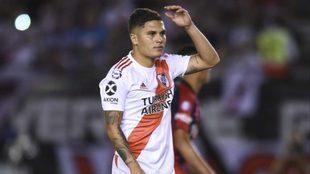 Juan Fernando Quintero se pierde la final de la Copa Argentina