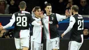 Cristiano Ronaldo e Higuaín lideran el triunfo de Juventus en...