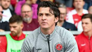 Barton es el entrenador del Fleetwood, de la tercera inglesa.