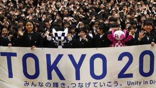 Las mascotas de Tokyo 2020.
