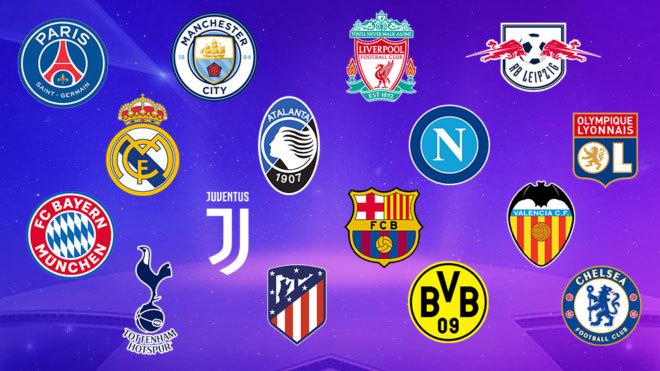 UEFA Champions League 2019-20: así quedó el sorteo de octavos ...