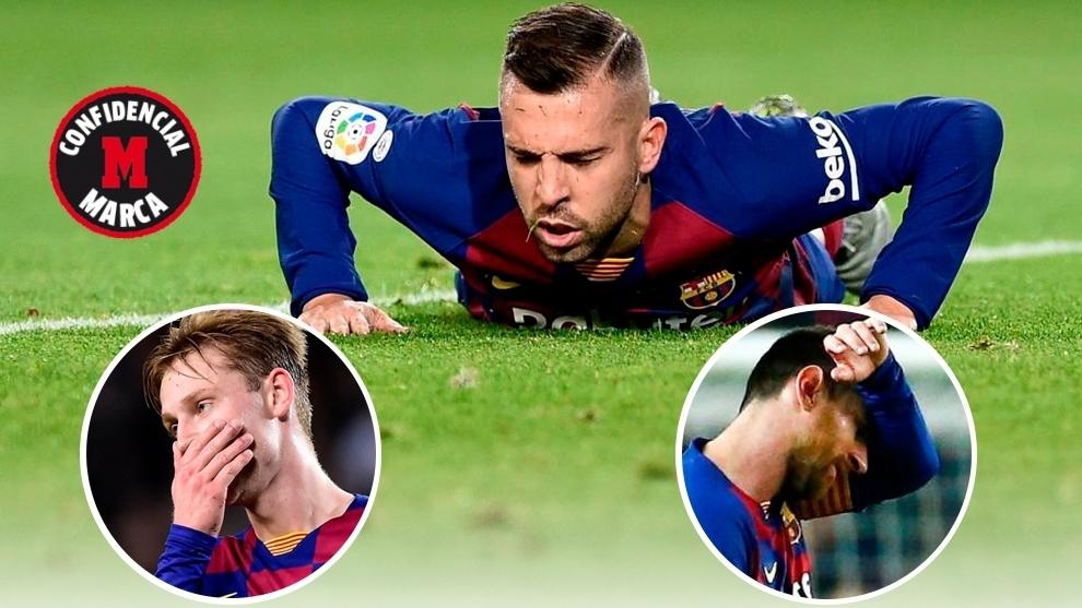 El vestuario del Barcelona ya se lo temía: están agotados